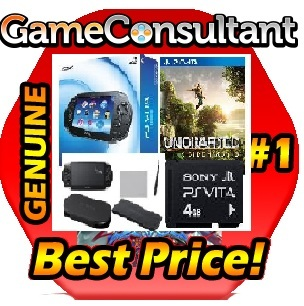 PLAYSTATION-PS-VITA-PSVITA-WI-FI-CONSOLE-SYSTEM-4GB-MEMORY-UNCHARTED-ACCESSORIES