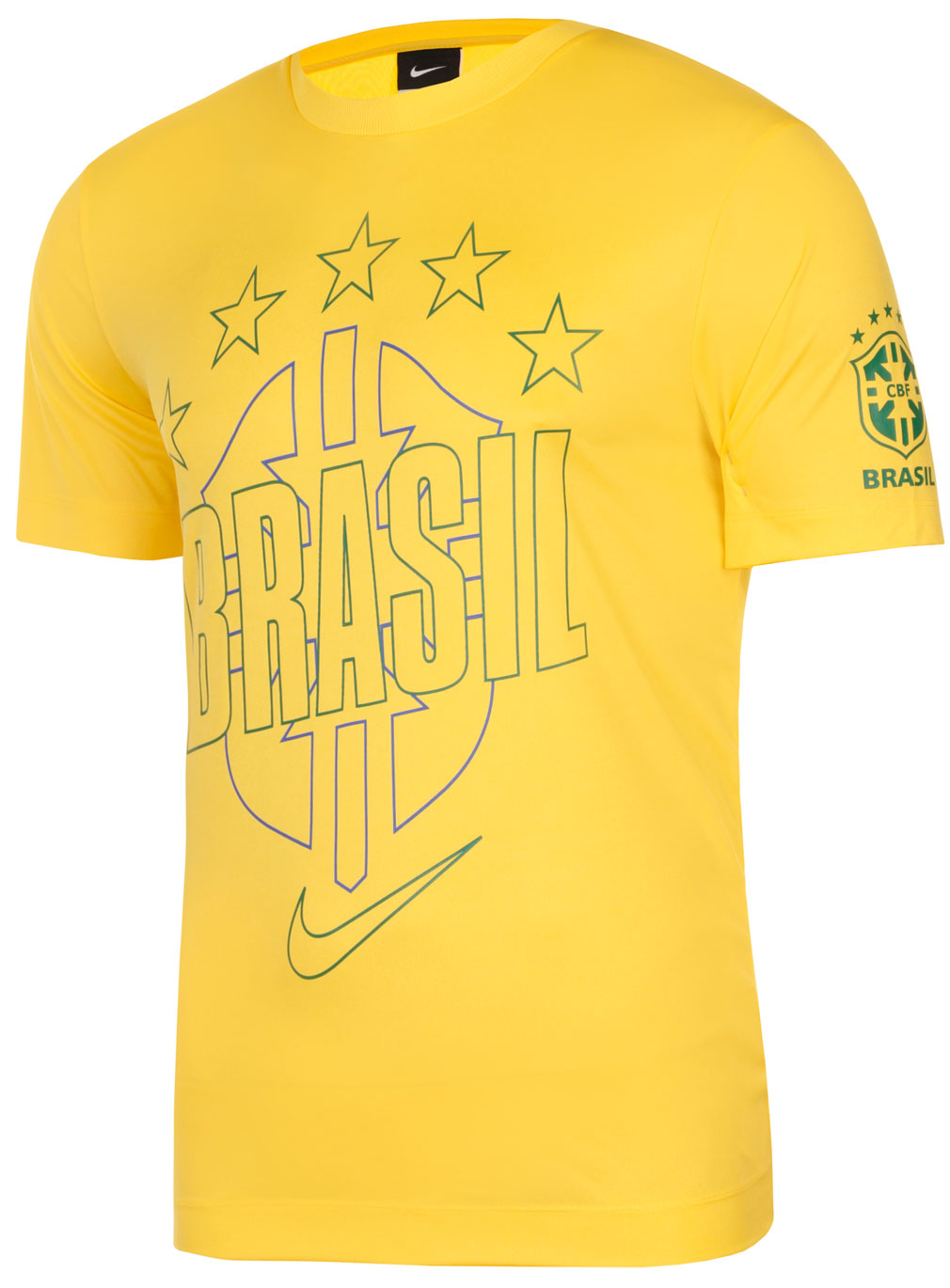 New Nike Brasil Core Poly Brazil (World Cup) Football Mens ...
