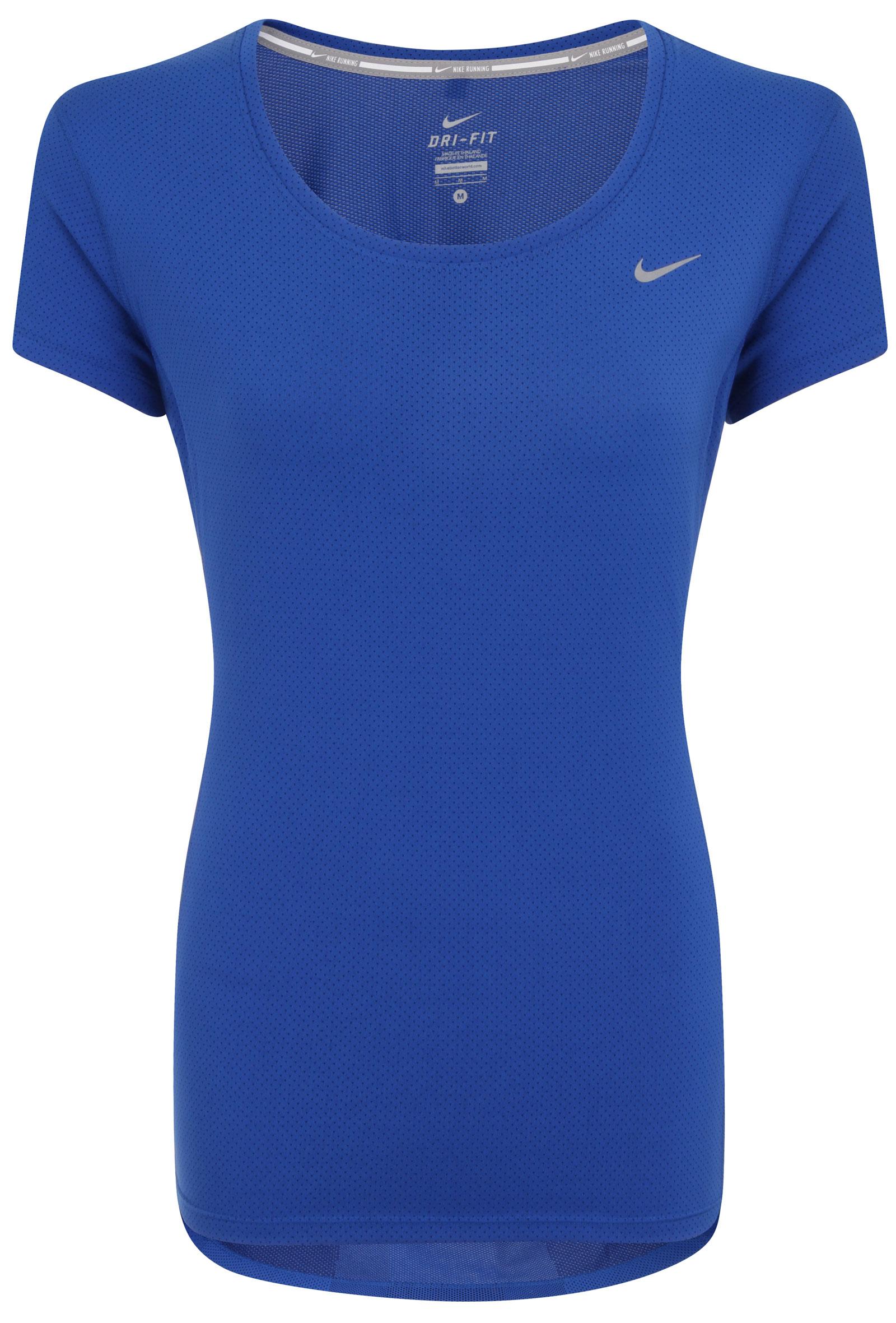 Nuevo-Nike-Dri-Fit-Contorno-De-Mujer-Correr-Camiseta-TODAS-LAS-TALLAS