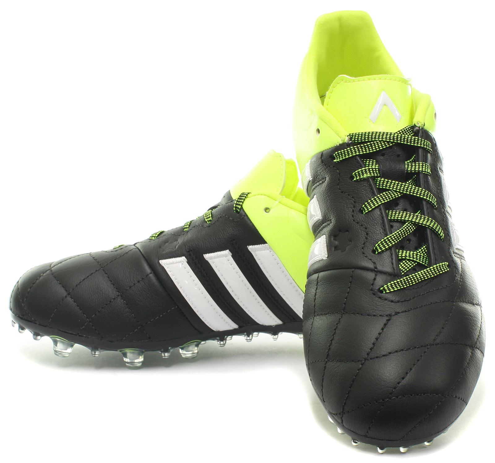 adidas-Ace-15-2-FG-AG-Cuero-Botas-Futbol-Hombre-futbol-Tacos-TODAS-LAS-TALLAS