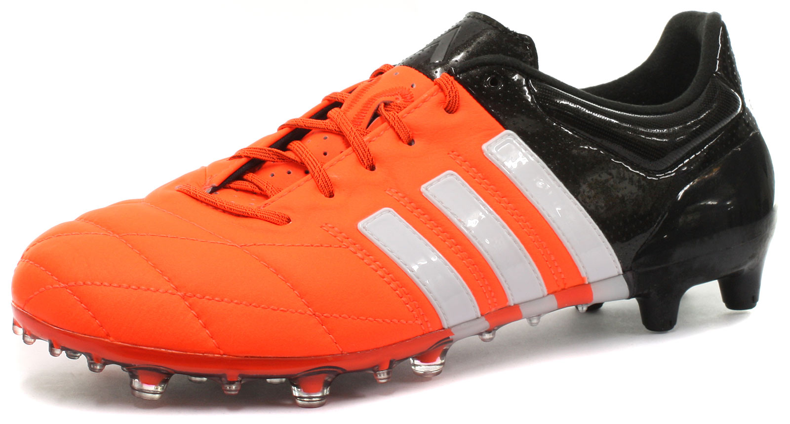 New adidas Ace 15.1 FG/AG Leather Mens Football Boots ALL ...