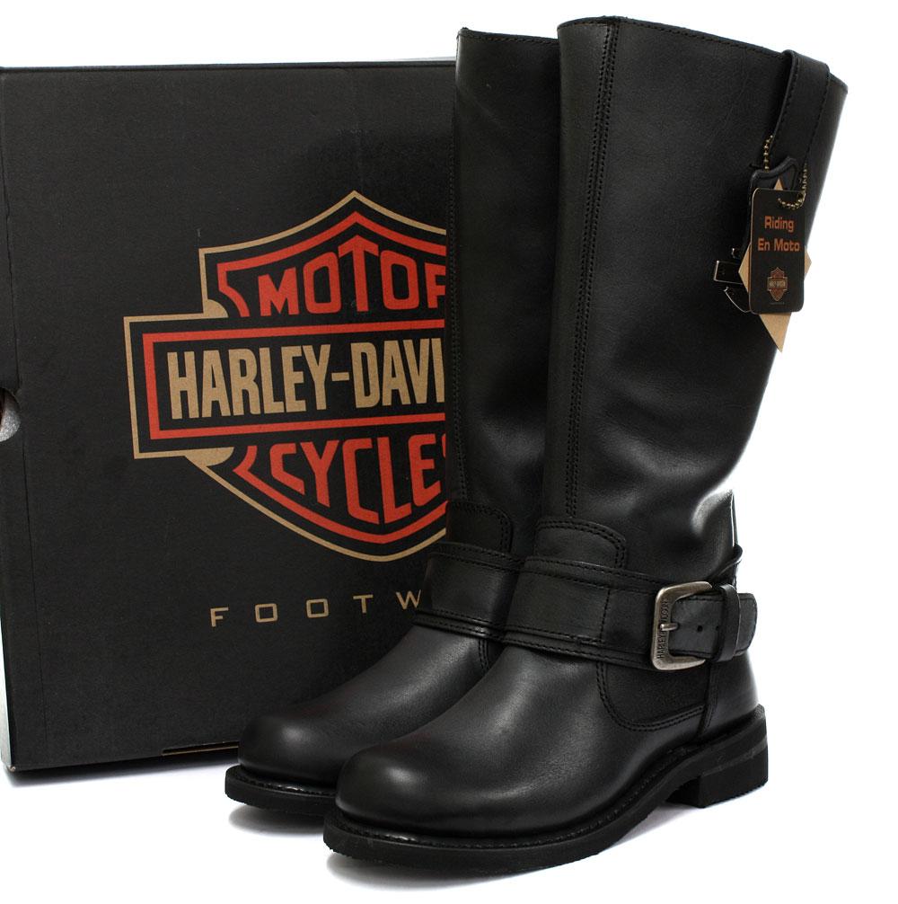 new harley davidson belinda womens biker boots all sizes