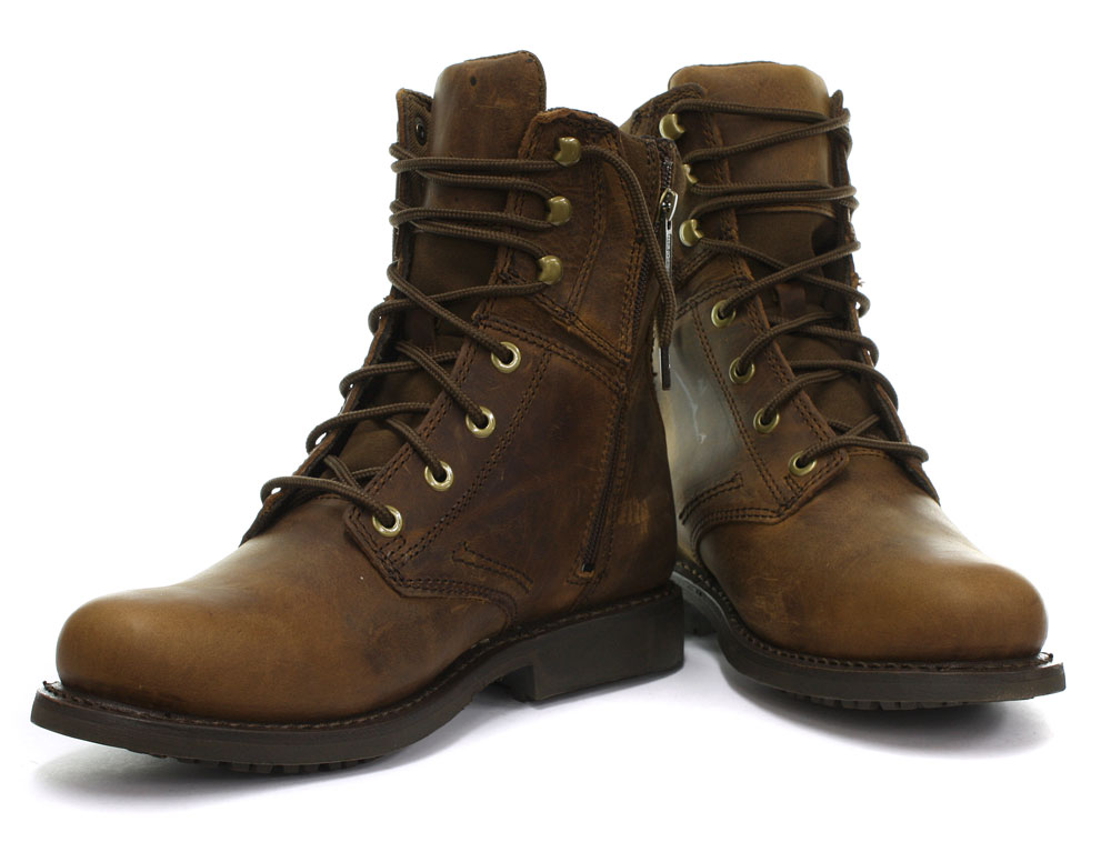 new harley davidson darnel brown mens ankle boots all