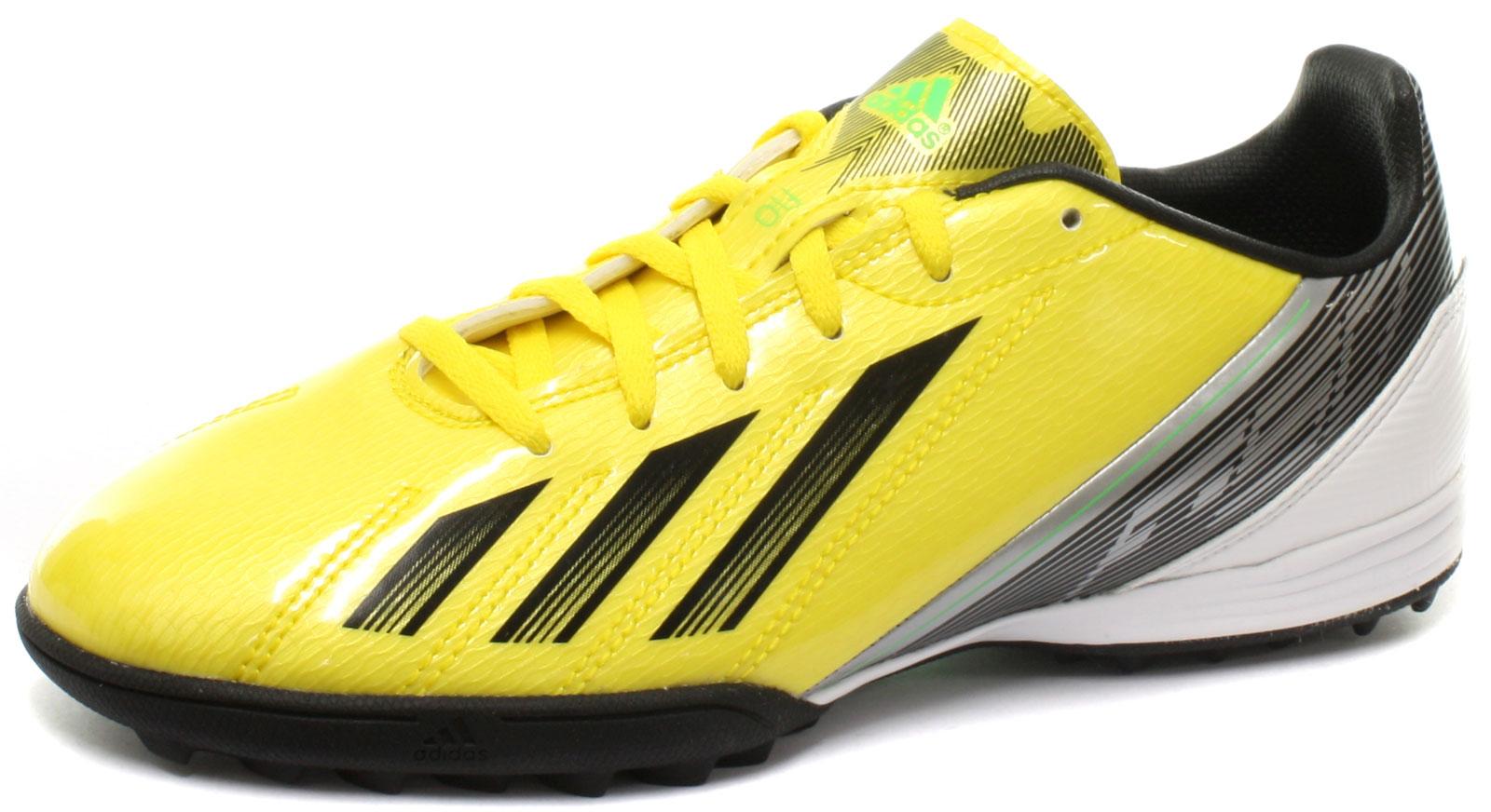 New-adidas-F10-TRX-TF-Astroturf-Junior-Football-Boots-Size-UK-5