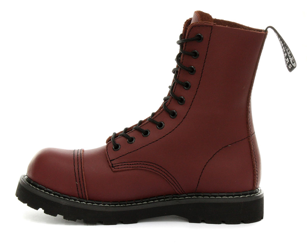 grinders stag mens safety steel toe cap boots ebay