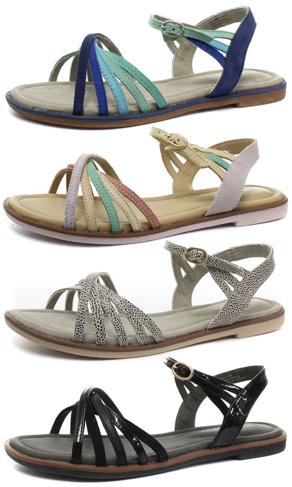 Hush Puppies Caposhi Qtr Strap Womens Sandals All Sizes
