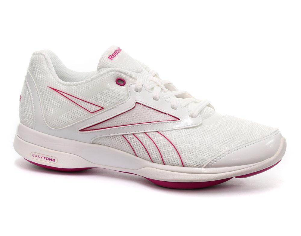 reebok easytone reemetro ii womens fitness toning shoes