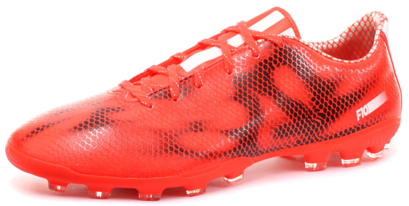 New-adidas-F10-AG-Artificial-Grass-Mens-Football-Boots-Size-UK-9
