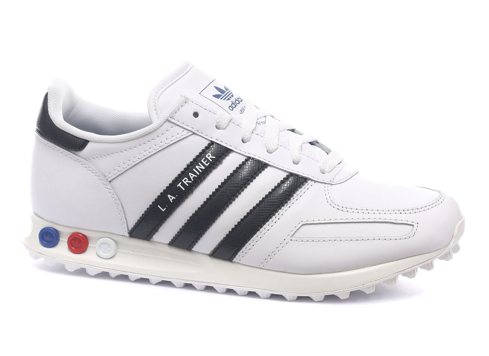 Adidas-Originals-LA-Trainer-White-Black-Mens-Trainers-ALL-SIZES-V22815