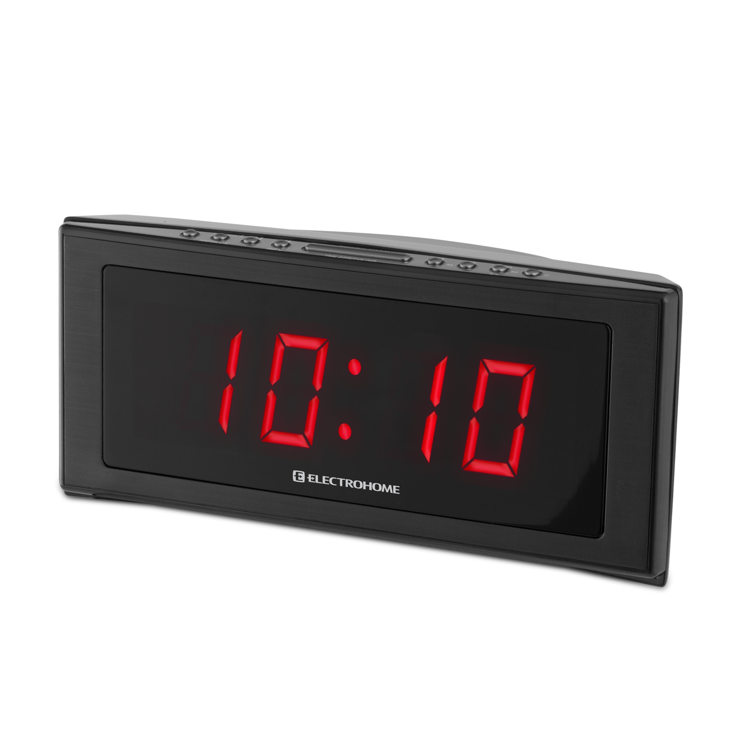 "Electrohome� 1.8"" Jumbo LED Alarm Clock Radio with Battery Backup, Auto Time Set, Digital AM/FM Radio & Dual Alarm at Sears.com"
