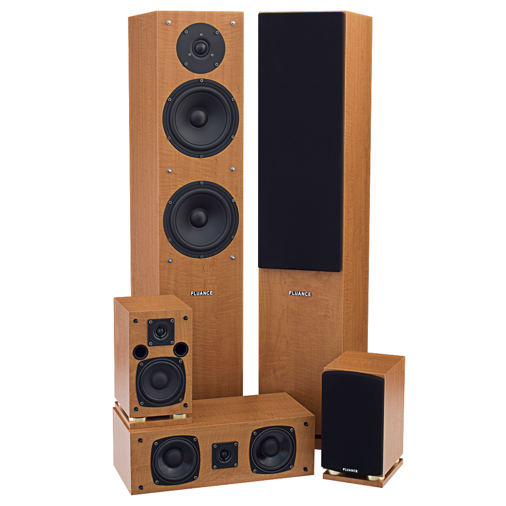 Home theater surround sound system usa for Woofer speaker system