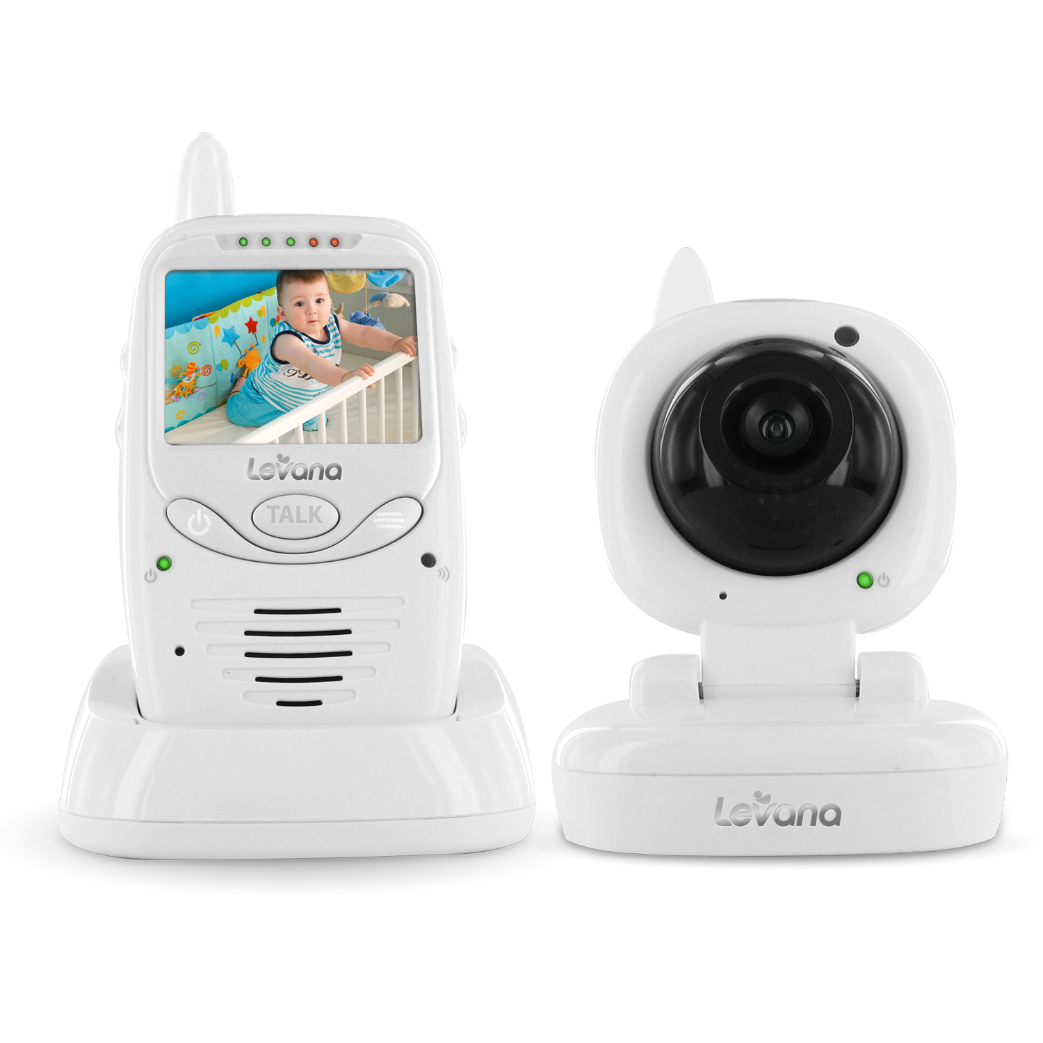 levana jena digital baby video monitor with 8 hour rechargeable battery ebay. Black Bedroom Furniture Sets. Home Design Ideas