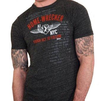 ajaxx63 Mens Home-Wrecker Graphic Athletic T-Shirt at Sears.com
