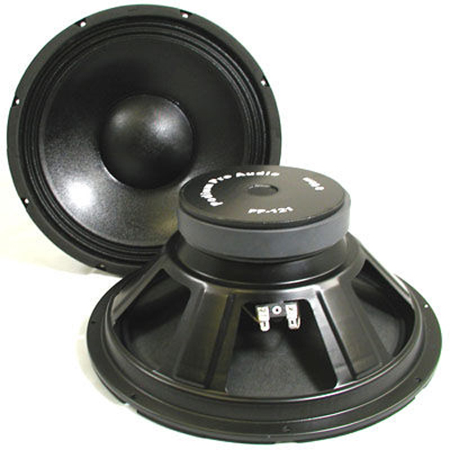 "Podium Pro PP121 12"" Pro Audio DJ PA Karaoke Band Replacement Subwoofer Pair at Sears.com"