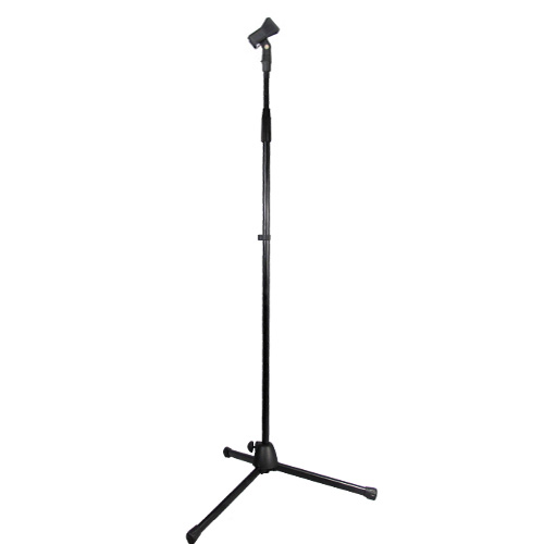 Podium Pro Adjustable Steel Microphone Stand with Clamp Mic Clip and Tripod Base Mic Stand MS2SET1 at Sears.com
