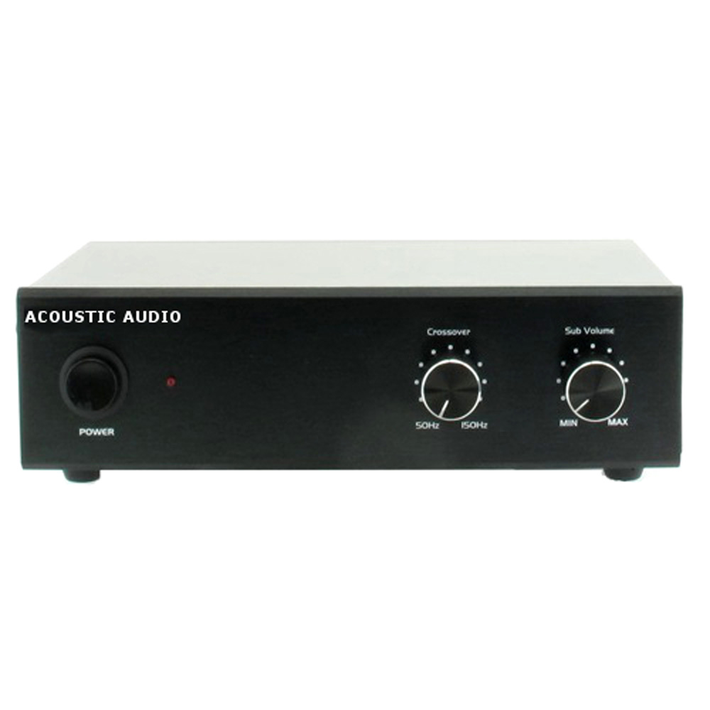 acoustic audio ws1005 passive subwoofer amp 200 watt