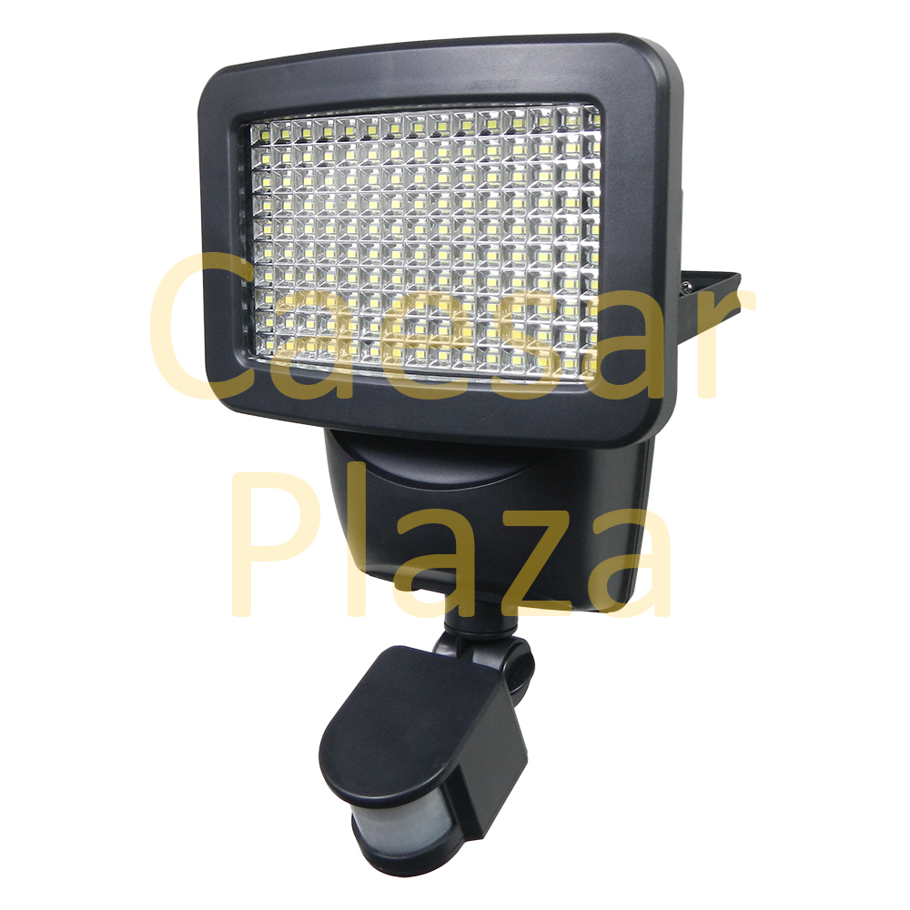150 SMD LED Solar Motion Sensor Security Light Outdoor Wall Detector Flood Spot