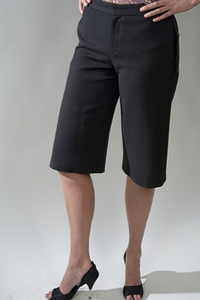 Chaiken Clean Culotte Womens Shorts Black Size 2 at Sears.com