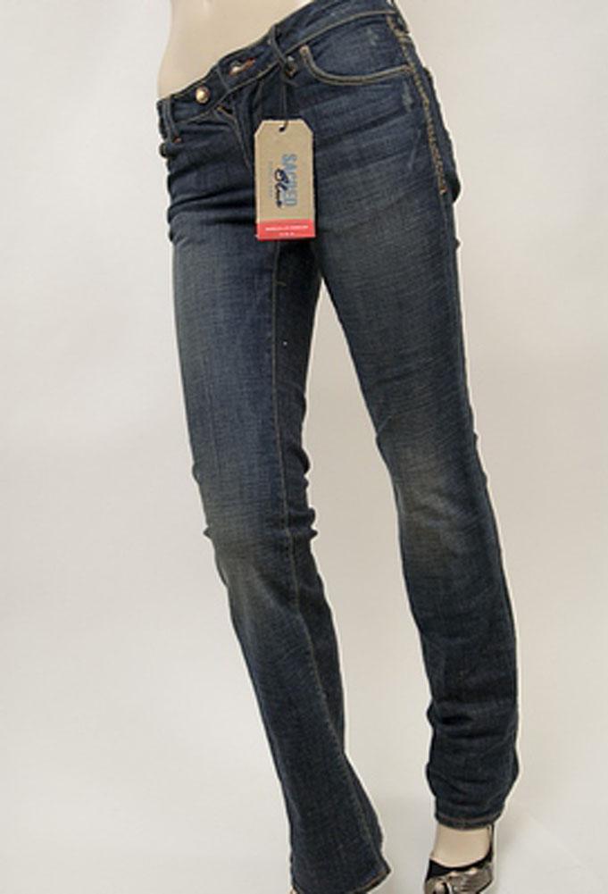Sacred Blue Naomi Womens Jeans Dim Dark Wash Size 24 at Sears.com