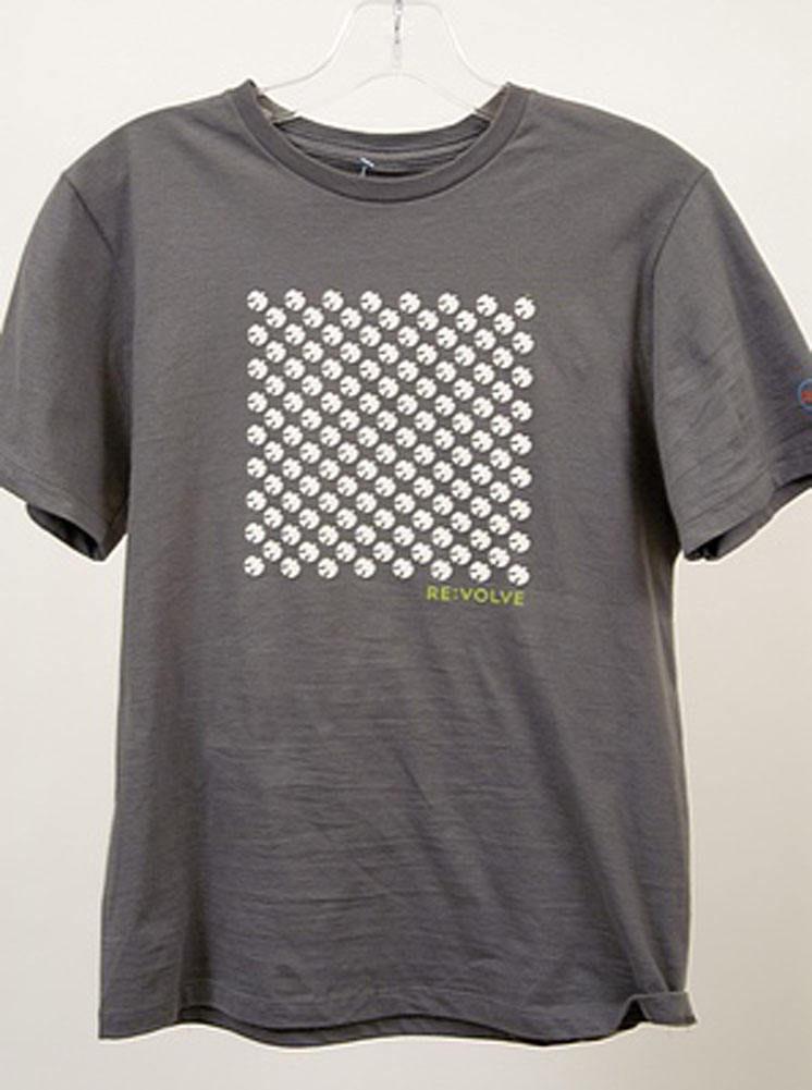 Re:Volve Peace Flock S/S Boys T Shirt Gray Size S at Sears.com