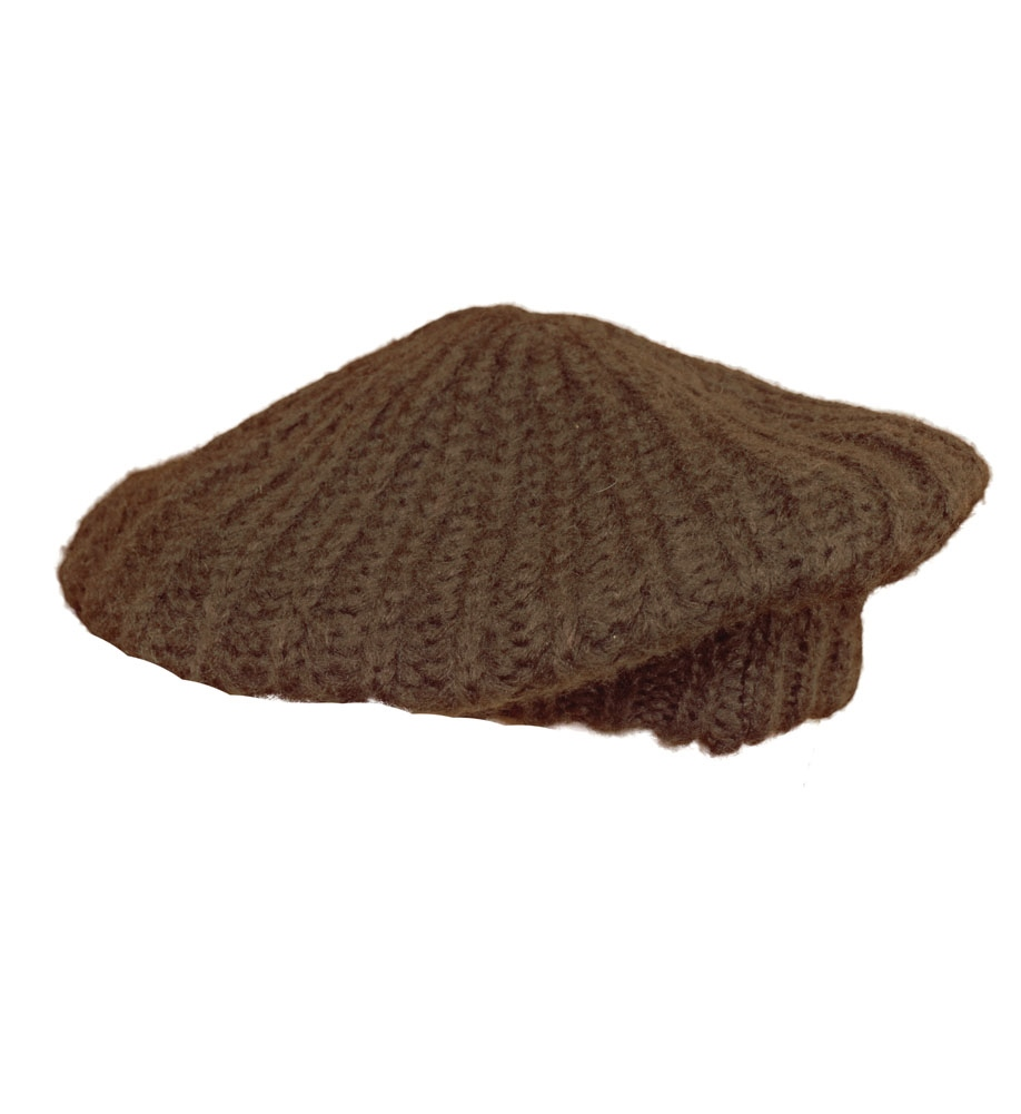 new alley 320 knit beret womens hats brown one size ebay