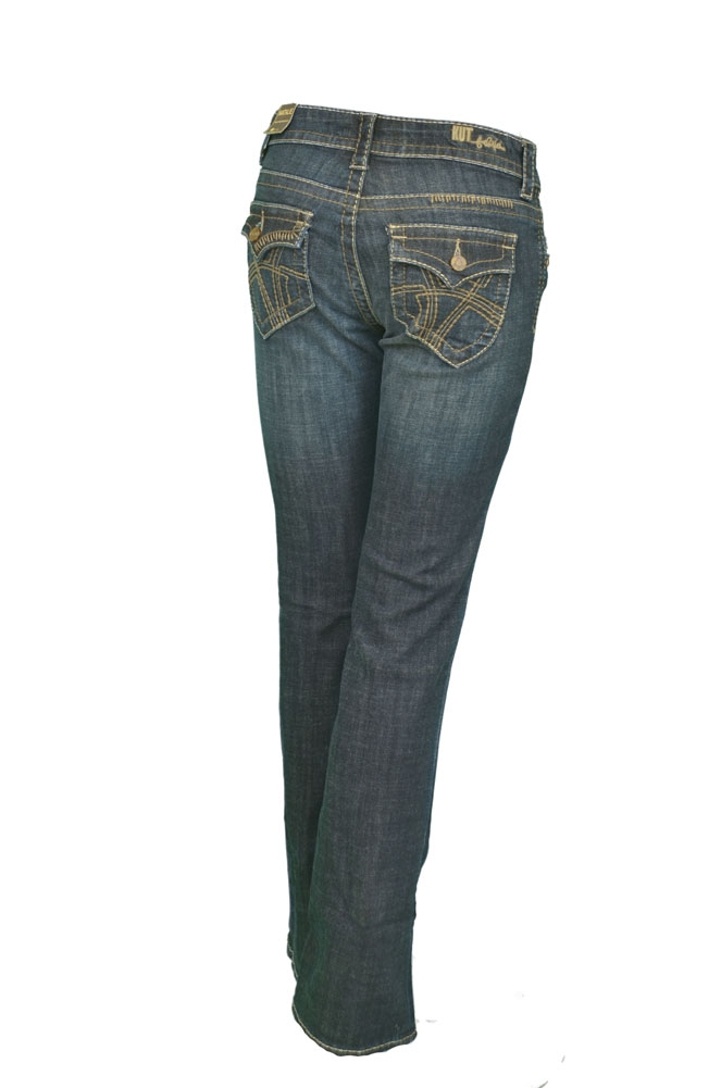 Kut From The Kloth Natalie KP736MA1 Flap Bootcut Womens Jeans Dark Size 0 at Sears.com