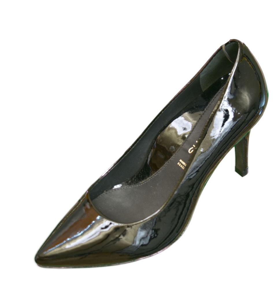 DANA DAVIS Zuzu Patent Leather Pump Heels Womens Shoes Black Size 8 at Sears.com