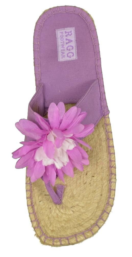 Ragg 1115 Waikiki Flat Sandal Womens Shoes Purple Size 5 at Sears.com