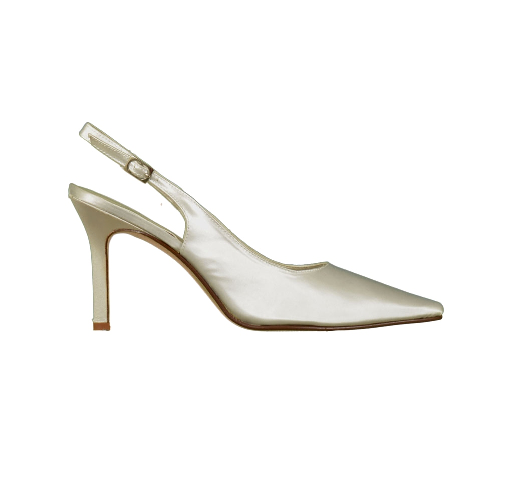 Special Occasions Carrie 6030 High Heel Slingback Womens Shoes White Size 10 at Sears.com