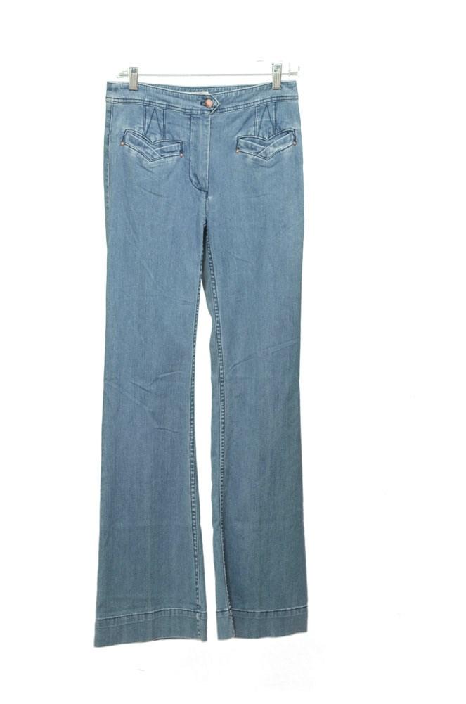 Leifsdottir Flare Womens Jeans Vintage Blue Light Wash Size 27 at Sears.com