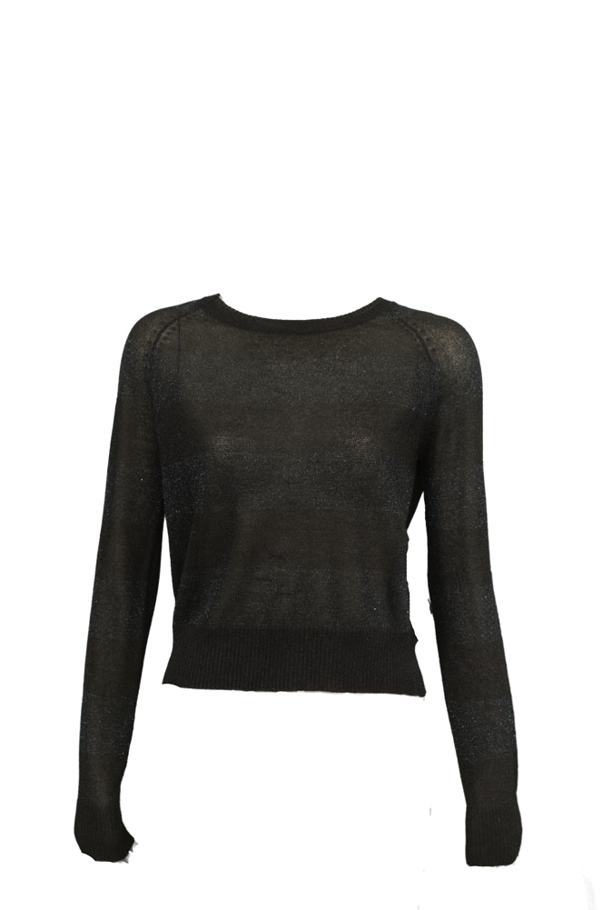 Patterson J Kincaid Tinder PK445613JK Crew Womens Sweaters Black Size S at Sears.com