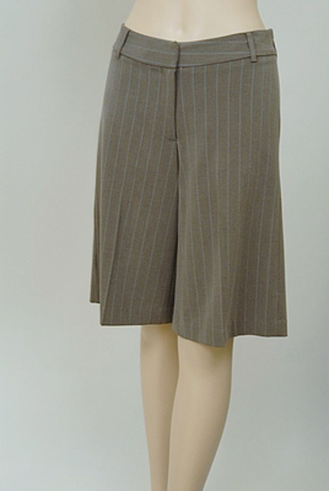 Kenzie Feminine Womens Shorts Taupe Size 2 at Sears.com