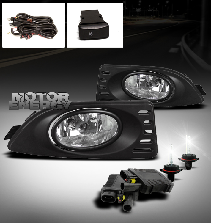 05 06 07 acura rsx dc5 2dr jdm bumper fog light 6000k hid xenon lamp. Black Bedroom Furniture Sets. Home Design Ideas