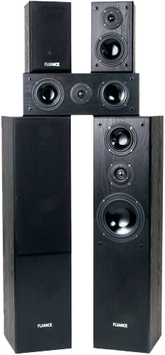 Fluance AVHTB+ Surround Sound Home Theater 5 Speaker System at Sears.com
