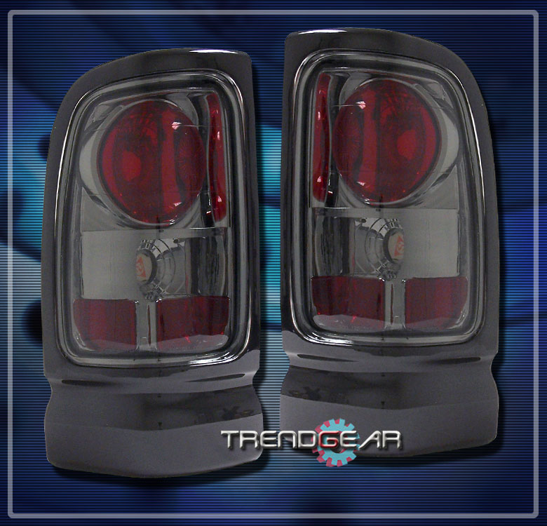 1994 2001 dodge ram 1500 2500 3500 altezza brake tail light lamp smoke. Black Bedroom Furniture Sets. Home Design Ideas