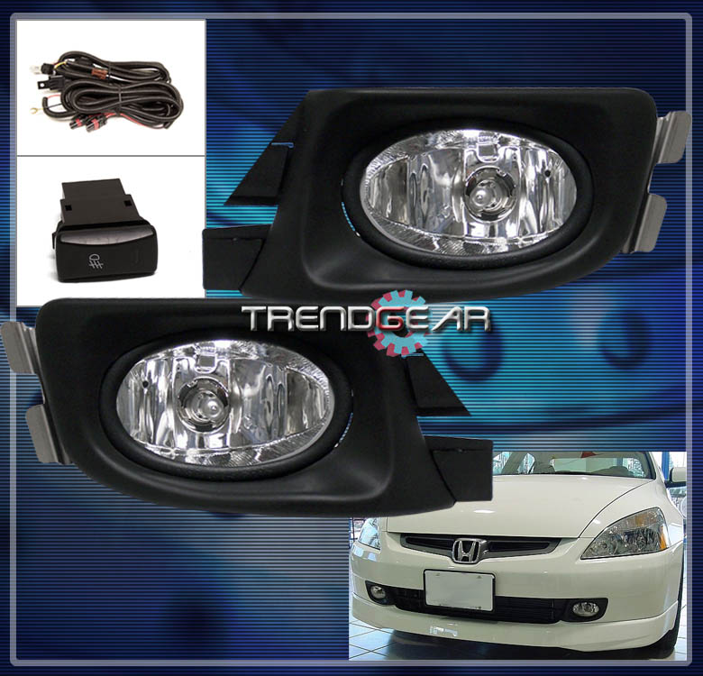 fl cn ha034d 2003 2004 2005 honda accord sedan 4dr jdm bumper fog light lamp 2008 honda accord fog light wiring diagram at bakdesigns.co