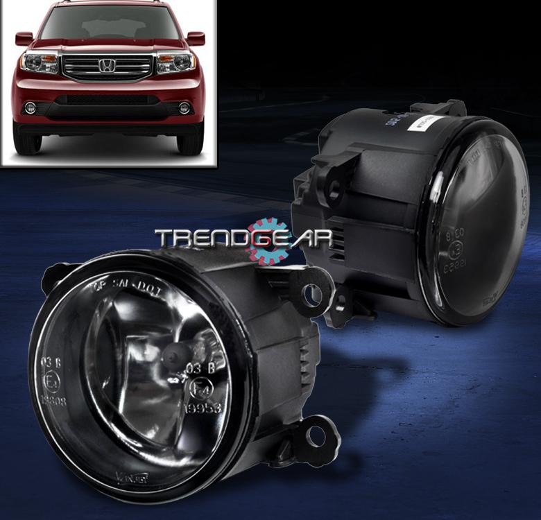 Wiring Harness Kit For 2012 Honda Pilot : Honda pilot bumper driving fog lights lamp