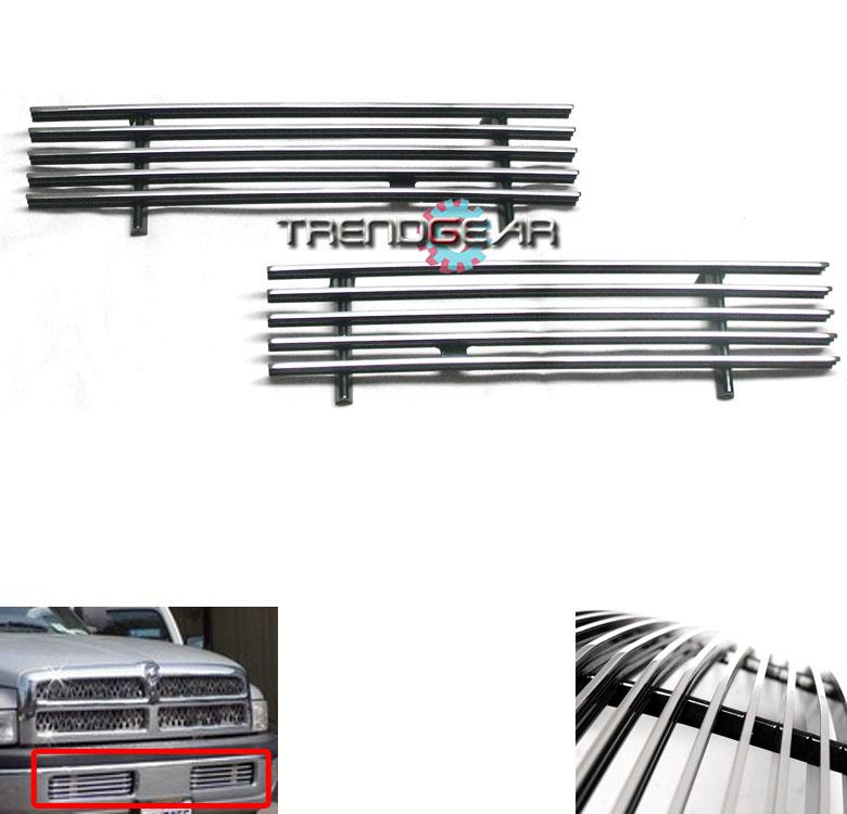 1994 2001 dodge ram pickup front bumper billet grille. Black Bedroom Furniture Sets. Home Design Ideas
