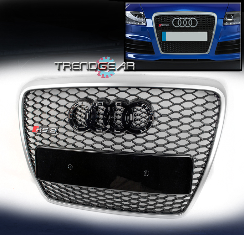 2005 2011 audi a6 c6 s6 sfg 4f front sport grille grill. Black Bedroom Furniture Sets. Home Design Ideas