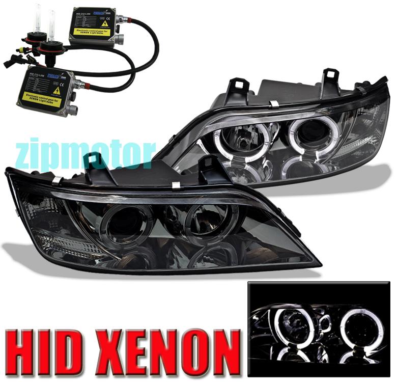 96 02 Bmw Z3 Halo Smoke Projector Headlights Xenon Hid Ebay