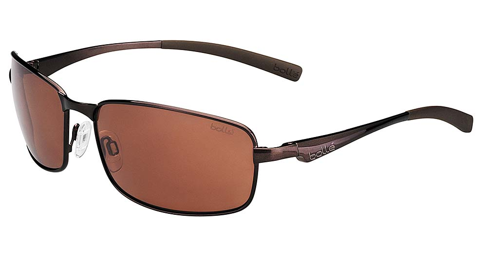 bolle polarized sunglasses  brown polarized