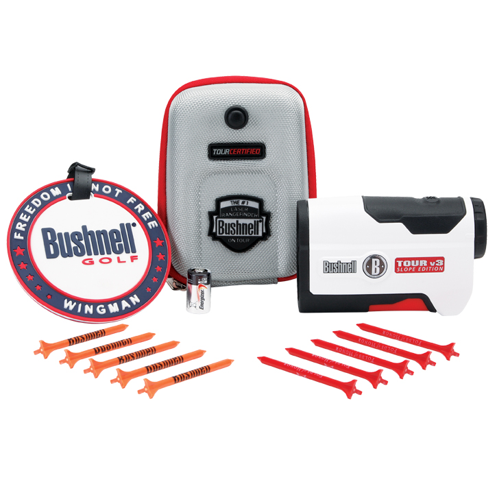 Bushnell 2013 Bushnell Tour V3 Slope 201361P Patriot Pack PinSeeker Laser Rangefinder at Sears.com