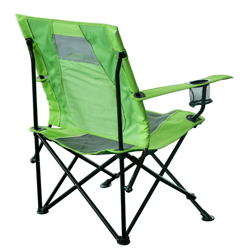strongback core folding camp chair with superior back support. Black Bedroom Furniture Sets. Home Design Ideas
