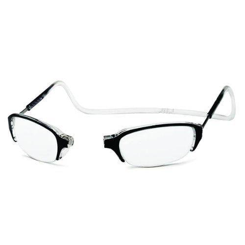 clic half frame click reading readers glasses clic