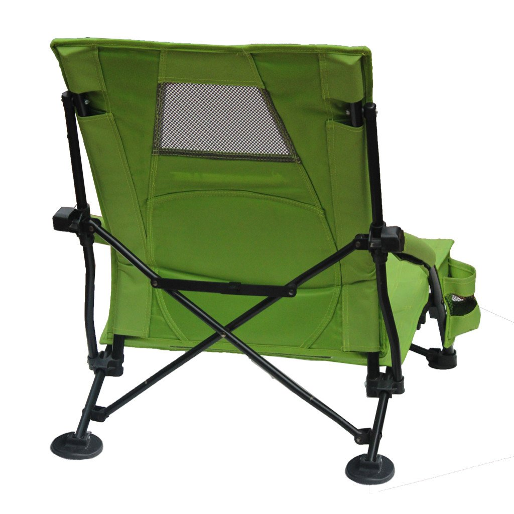 Strongback Low Gravity Folding Beach Chair with Superior Back Support
