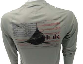 Huk Men/'s Pursuit American Pitch Performance Long Sleeve Shirt