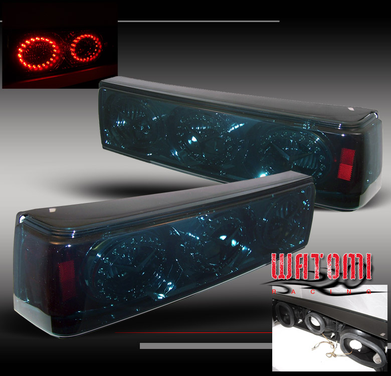 87 88 89 90 91 92 93 ford mustang led tail lights smoke ebay. Black Bedroom Furniture Sets. Home Design Ideas