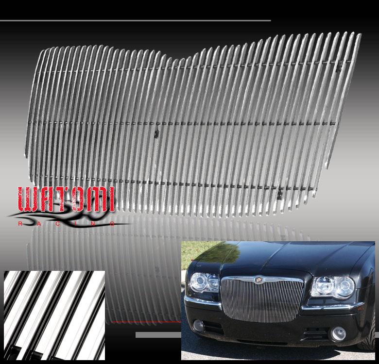 04-07 CHRYSLER 300 300C VERTICAL BILLET GRILLE GRILL 06