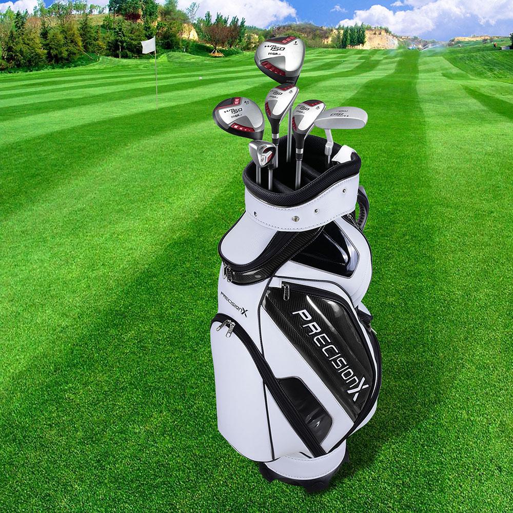Golf: Golf Carry Cart Bag W/5 Way Divider Organizer For 13 Golf