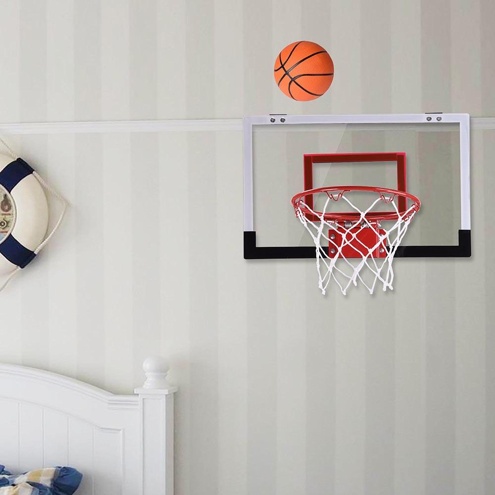 18 Mini Basketball Hoop System Indoor Outdoor Office Home Kids Backboard W Ball Ebay